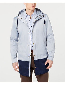 Men's Classic Fit Colorblocked Raincoat by General