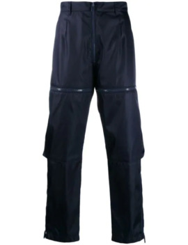 Nylon Gabardine Style Trousers by Prada