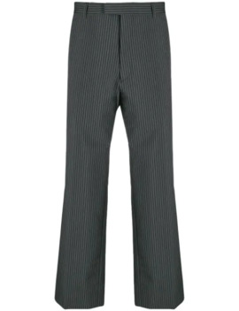 Striped Tailored Trousers by Prada