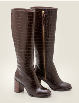 Evershot Knee High Boots by Boden