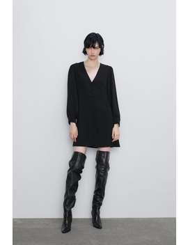 Buttoned Dress New Inwoman by Zara