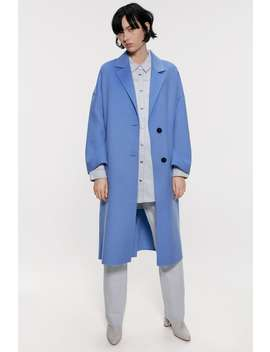 Oversized Coat New Inwoman by Zara