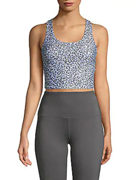 Printed Sports Bra by Betsey Johnson Performance