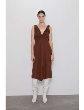 Knotted Dress New Inwoman by Zara