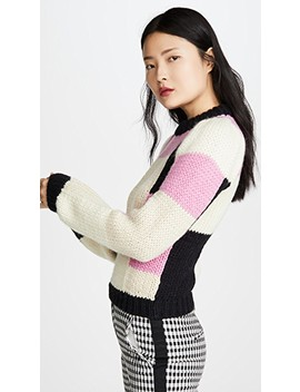 Hand Knit Wool Sweater by Ganni