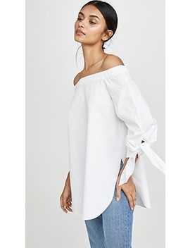 Off The Shoulder Top by Tibi