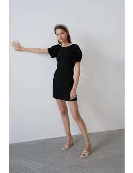 Full Sleeve Dress New Intrf by Zara