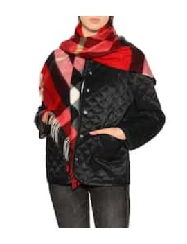 The Burberry Bandana Cashmere Scarf by Burberry