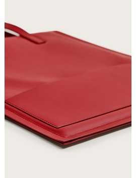 Pocket Tote Bag by Mango