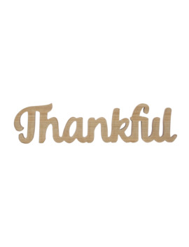 "19"" Thankful Wooden Sign By Ashland® by Ashland"