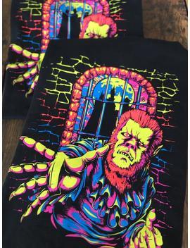 70s Blacklight Werewolf Shirt by Etsy