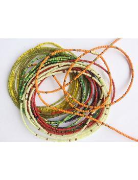 20''   50'' African Waist Beads   Belly Jewelry  Body Jewelry   Belly Beads   Waist Beads   Pick Your Design by Etsy