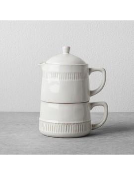 Coffee Pot &Amp; Mug Set Cream   Hearth &Amp; Hand With Magnolia by Hearth & Hand With Magnolia