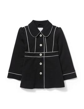 Ponte Long Jacket by Janie And Jack