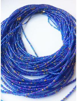 Azure African Waist Beads   Belly Jewelry  Body Jewelry   Belly Beads   Waist Beads by Etsy