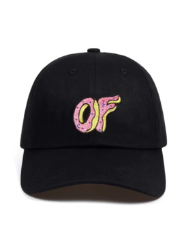 High Quality Brand Of Donut Embroidered Cap Style Baseball Curved Unstructured Men Women Hip Hop Dad Hat Bone Garros by Ali Express.Com