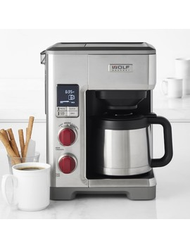 Wolf Gourmet Automatic Drip Coffee Maker by Williams   Sonoma