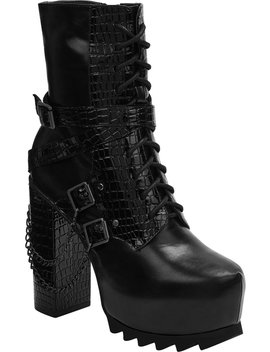 Darklings Platform Boots by Killstar