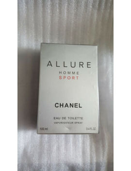 Chanel Allure Homme Sport 3.4 Oz Men's Eau De Toilette New Sealed by Chanel