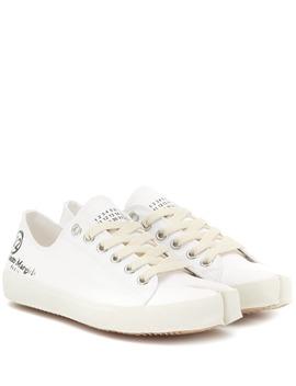 Tabi Canvas Sneakers by Maison Margiela