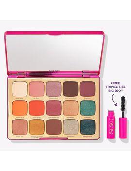 Unleashed Eyeshadow Palette & Travel Size Big Ego™ Mascara by Tarte
