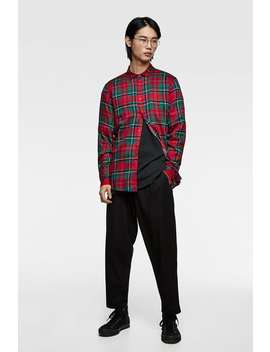 Flowing Checked Shirt  Shirtsman Sale by Zara