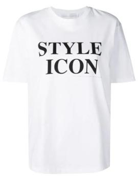 футболка с принтом by Victoria Victoria Beckham