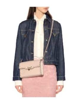 Valentino Garavani Rockstud Medium Leather Shoulder Bag by Valentino