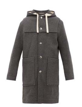 Orvon Hooded Wool Blend Parka by Acne Studios
