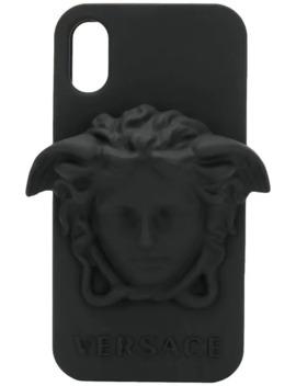 Medusa I Phone X Case by Versace