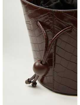 Croc Basket Bag by Mango