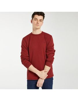 Men's Wharf River Waffle Crew Neck Shirt by Timberland