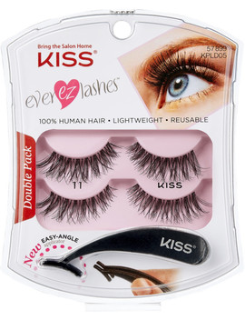 Online Only Ever Ez Lashes Double Pack #11 by Kiss