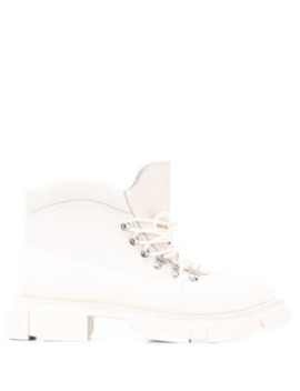 Flat Hyker Boots by Clergerie