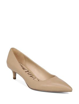 Women's Dori Pointed Toe Kitten Heel Pumps by Sam Edelman