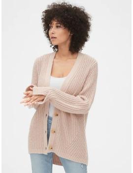 Twist Sleeve Cardigan Sweater by Gap