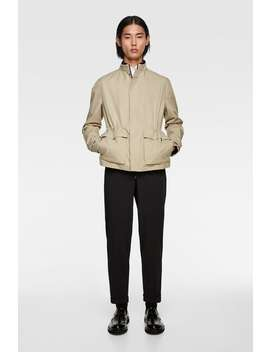 Water Repellent Traveler Jacket New Inman by Zara