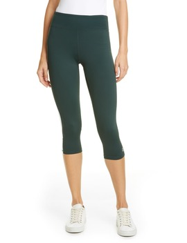 Hi Vis Crop Leggings by Tory Sport