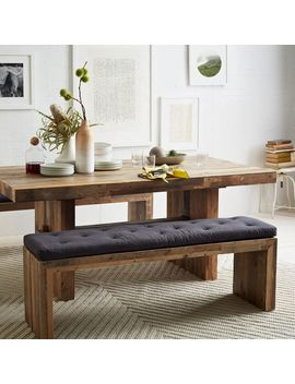 Emmerson® Reclaimed Wood Dining Bench   Reclaimed Pine by West Elm