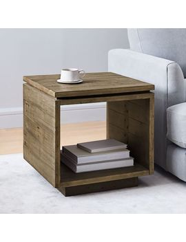 Emmerson® Modern Side Table   Reclaimed Pine by West Elm