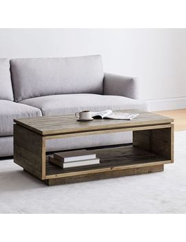 Emmerson® Modern Coffee Table   Reclaimed Pine by West Elm