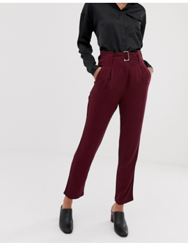 Y.A.S Belted Trouser by Y.A.S.