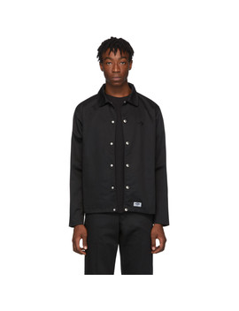 Black Driving Jacket by Dickies Construct