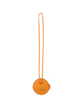 Orange 'le Pitchou' Coin Pouch by Jacquemus