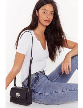 Want Basket It Up Shoulder Bag by Nasty Gal