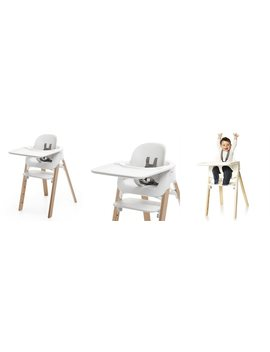 Stokke® Steps™ Highchair White And Natural by Stokke