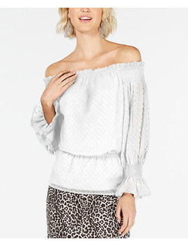 I.N.C. Textured Off The Shoulder Top, Created For Macy's by General