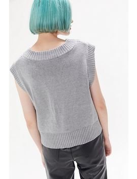 Uo Ollie Oversized Sweater Vest by Urban Outfitters