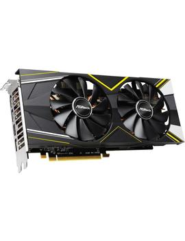 As Rock Radeon Rx 5700 Xt Direct X 12 Rx 5700 Xt Challenger D 8 G Oc 8 Gb 256 Bit Gddr6 Pci Express 4.0 Hdcp Ready Video Card by As Rock