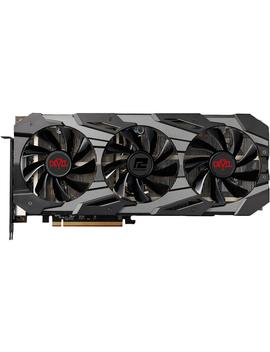 Power Color Red Devil Radeon Rx 5700 Xt Direct X 12 Axrx 5700 Xt 8 Gbd6 3 Dhep/Oc 8 Gb 256 Bit Gddr6 Pci Express 4.0 Cross Fire X Support Atx Video Card, Limited Edition by Power Color